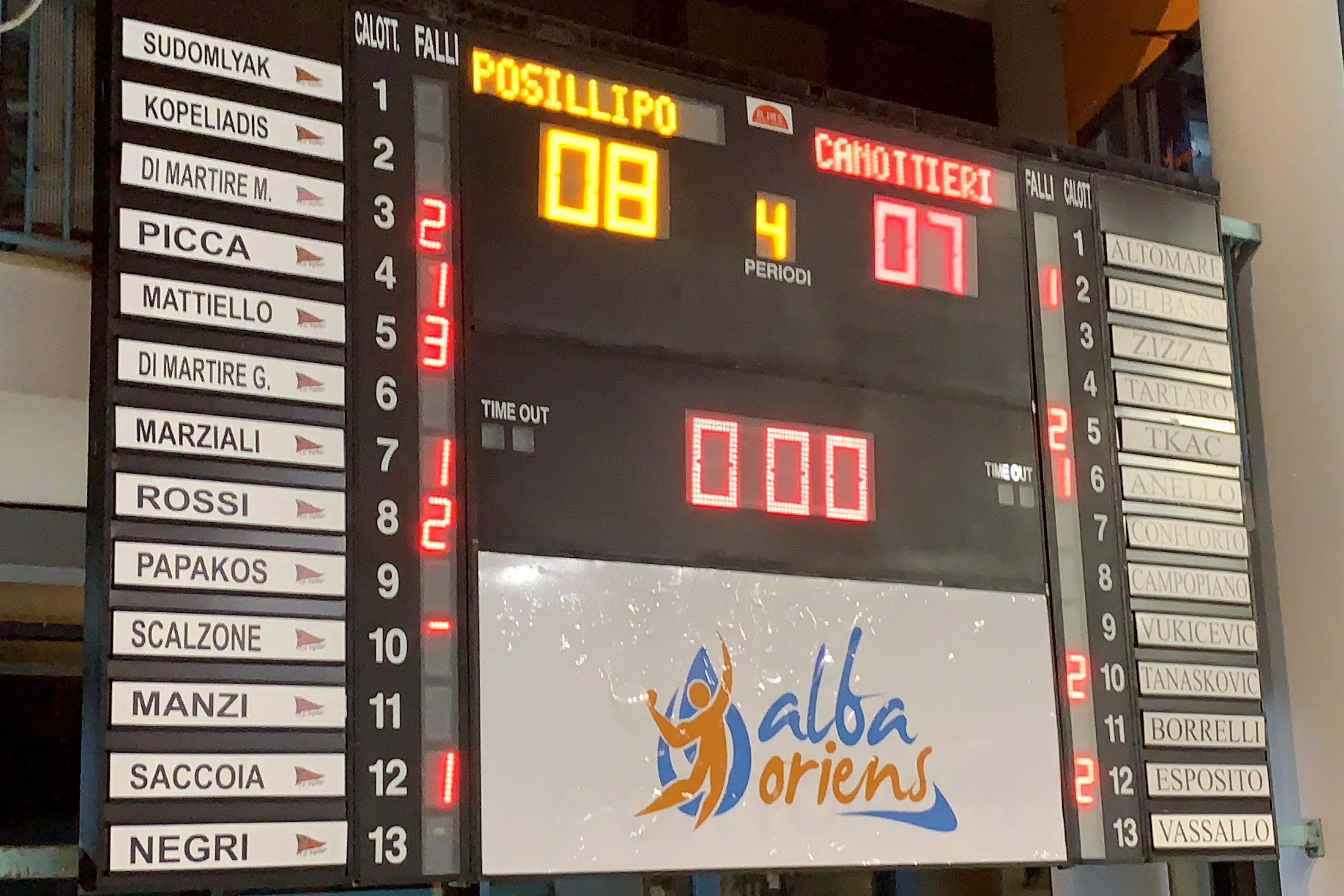 Posillipo Canottieri Pallanuoto - derby (2)