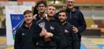 Spada maschile C2 Reggio Calabria - promozione - 2ª classificata