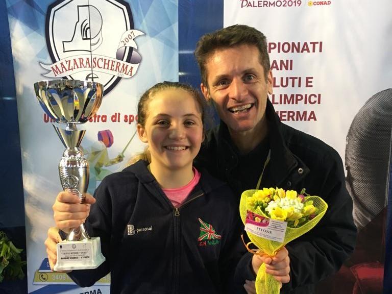 Carlotta Parisi e Raffaello Caserta a Mazara 2019