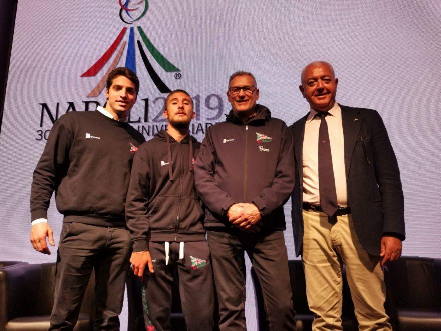 Paride Saccoia - Christian Heim - Aldo Cuomo - Gigi Massimo Esposito