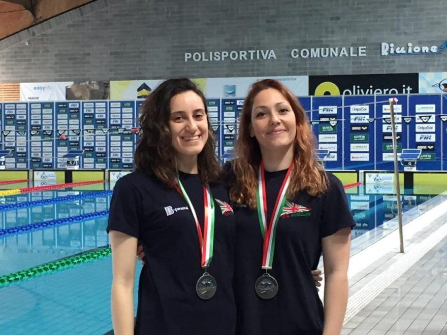 Chiara Lubrano e Marianna Esposito