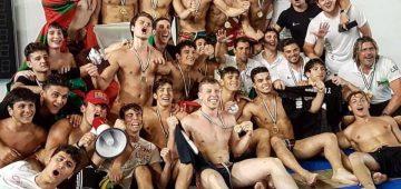 Pallanuoto under 20 campioni d-italia 2019