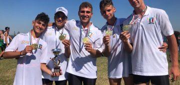 4 con campione d'italia