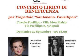 Concerto Lirico beneficenza Santobono-Pausillipon-Head