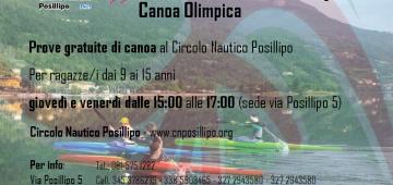 Locandina Canoa Olimpica 2019