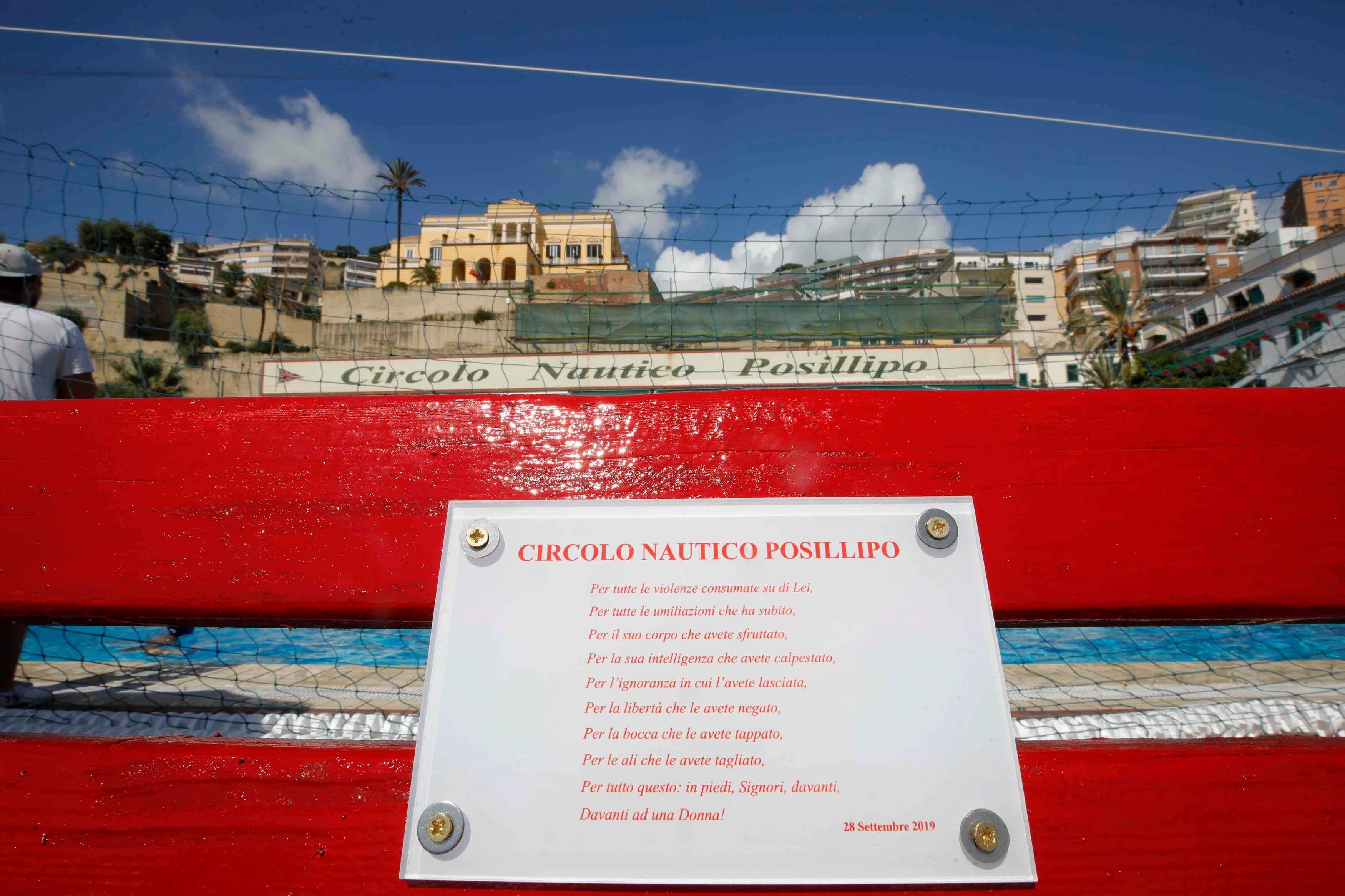 Panchina Rossa CN Posillipo - Nunzio Russo (9)