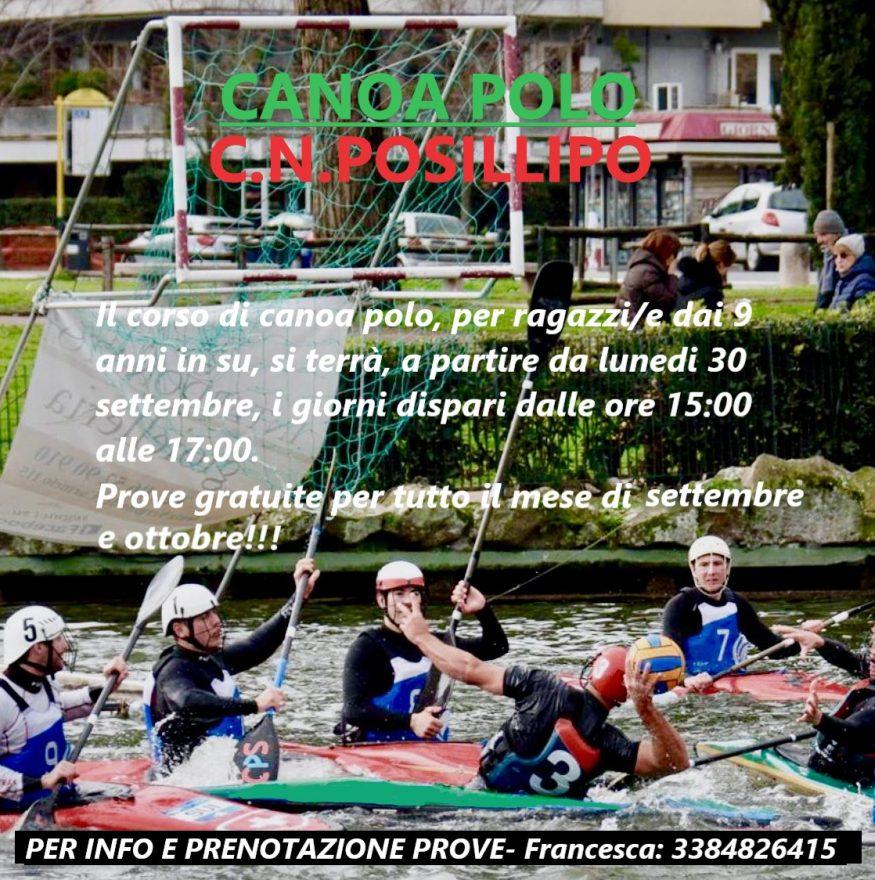 volantino 3 canoa polo 2019