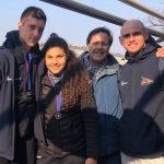 Federico Ceccarino - Cristina Annella - Mimmo Perna - Gabriele Lobascio - inverno sul Po 2020 (2)