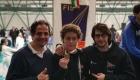 Cesare Fabrizio, Alfredo Rosa e Alessio Varòla