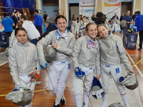 Sciaboloa a Squadre Sulmona U14 - 2020