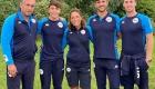 Rodolfo Vastola - Antonio Marino - Francesca Ciancio Bronzo agli europei U21-b